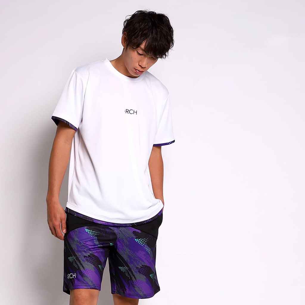 updraft tee (white/purple) https://arch-design.jp/?mode=srh&keyword=updraft+tee…  #arch_bal #ARCH_BALLER #Arch #Archbasketball #springcollection #春の新作 #spring #バスケ #3x3 #basketballwear #キョウハナニヲキテイコウ #kazutakapic.twitter.com/N8lg4R3eVn