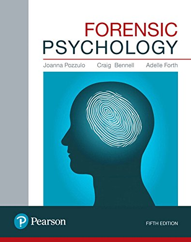 Free Medical Books On Twitter Forensic Psychology 5th Edition 2017 Pdf Joanna Pozzulo Https T Co Bvzsmrecyb In Forensic Medicine Psychology Basic Information Year 2017 Page Number 544 File Https T Co 6hqtnuymyp