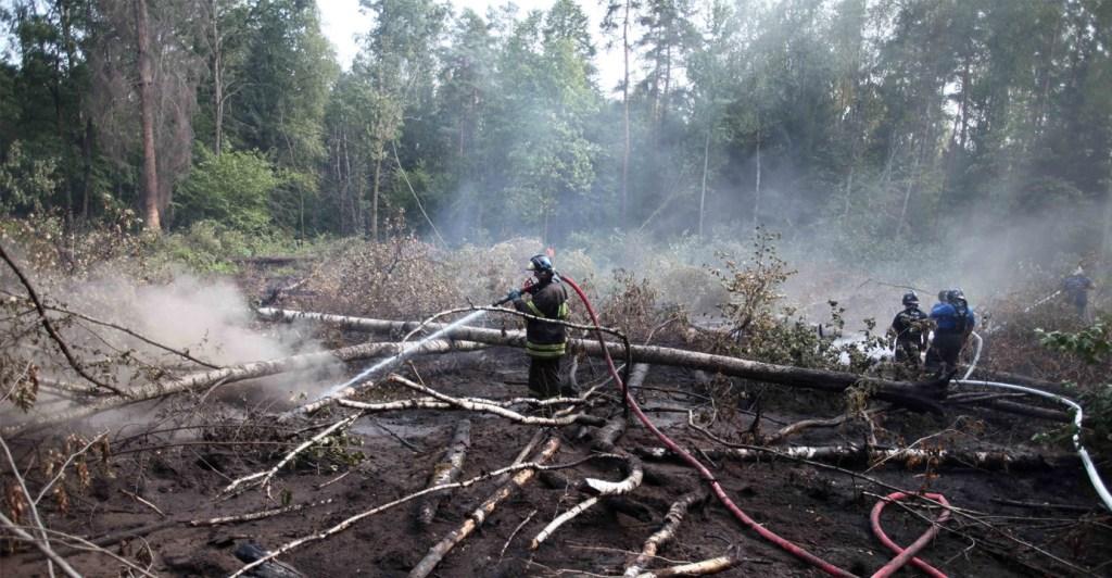 #Ukraine battles forest fire in #Chernobyl nuclear zone https://newshour.media/2020/04/05/ukraine-battles-forest-fire-in-chernobyl-nuclear-zone/…pic.twitter.com/nKVICGUu5d