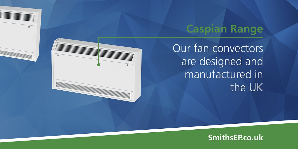 Smith's #Caspian range of #FanConvectors are #designed & #manufactured in the UK  #MadeInTheUK #ThinkSmiths https://bit.ly/2FpWU5z pic.twitter.com/iMn8HVloPr