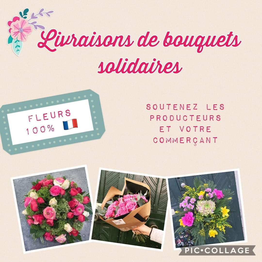 [PARTENAIRE] #Solidarité🤝  Notre partenaire Liberty Flore propose des bouquets...