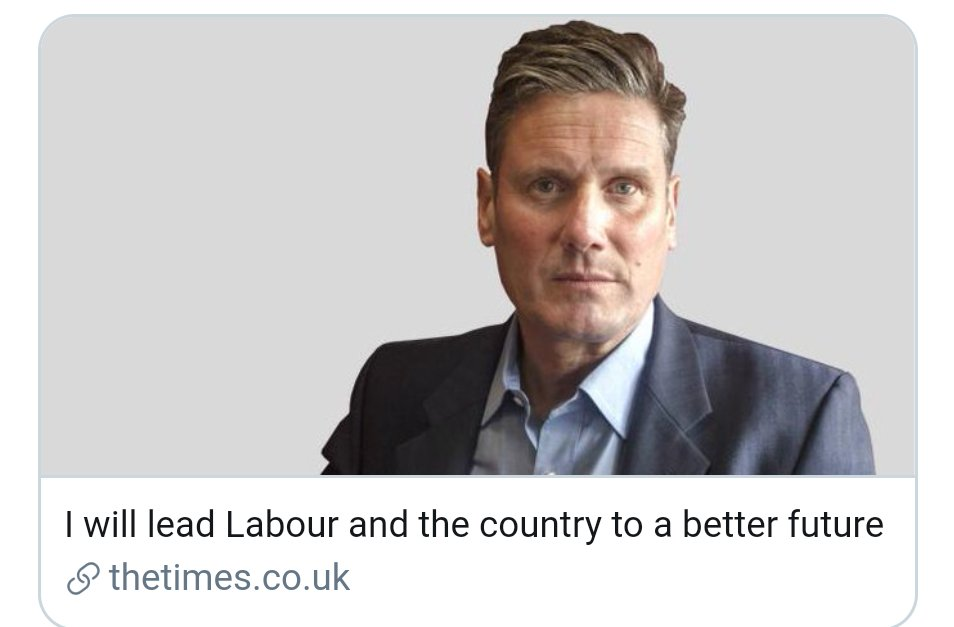 So, Keir Starmer sets his stall out from behind a Rupert Murdoch paywall. #Classy pic.twitter.com/ogP7y5q8Wg