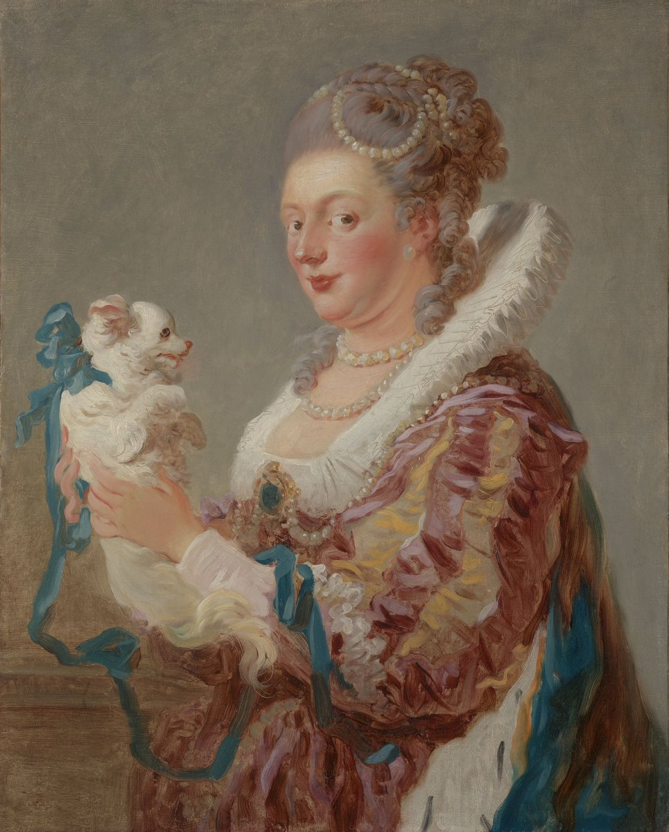 Best friends fur-ever   This painting by Jean Honoré #Fragonard—born #onthisday in 1732—is from a group of virtuoso works known as the fantasy figures. His brushwork is so rapid and undisguised, one might have thought it an oil sketch!   Learn more:  http:// met.org/39I89kz    <br>http://pic.twitter.com/NdRlabw9Ad