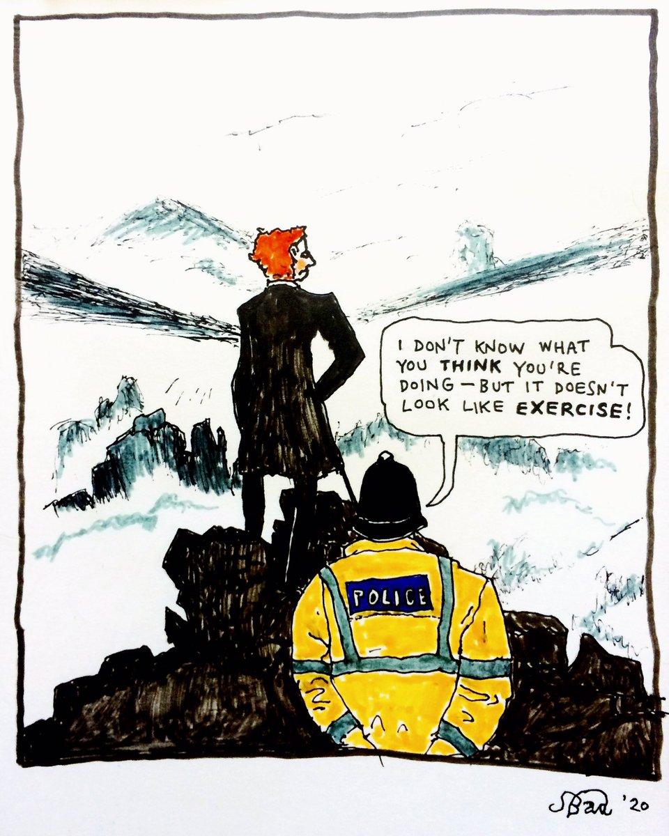 Today I've decided to become a political cartoonist. (With apologies to Caspar David Friedrich.)
