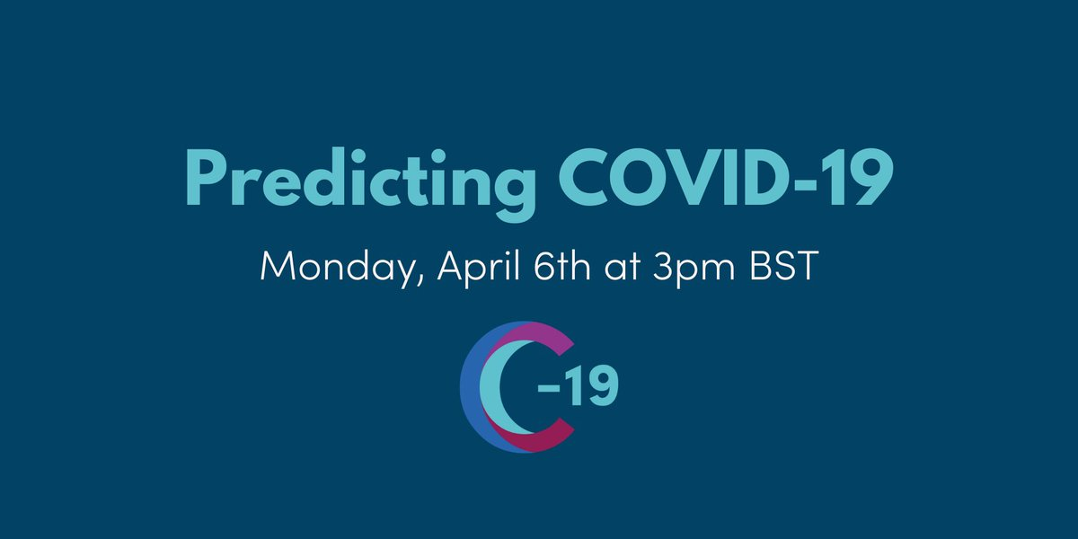Spots are filling up fast for our webinar tomorrow. Join to find out how we're predicting #COVID across the U.K. with our maps on our website: zoom.us/webinar/regist… #MachineLearning #predictcovid #FlattenTheCurve