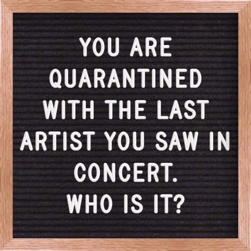 Ill take being quarantined with #davematthews everyday!