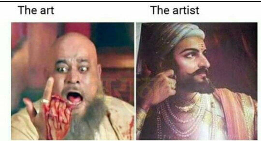 Superb  जय भवानी, जय शिवाजी !! #शिवाजीमहाराज #ShivajiMaharaj pic.twitter.com/Oh1ekEW8v3