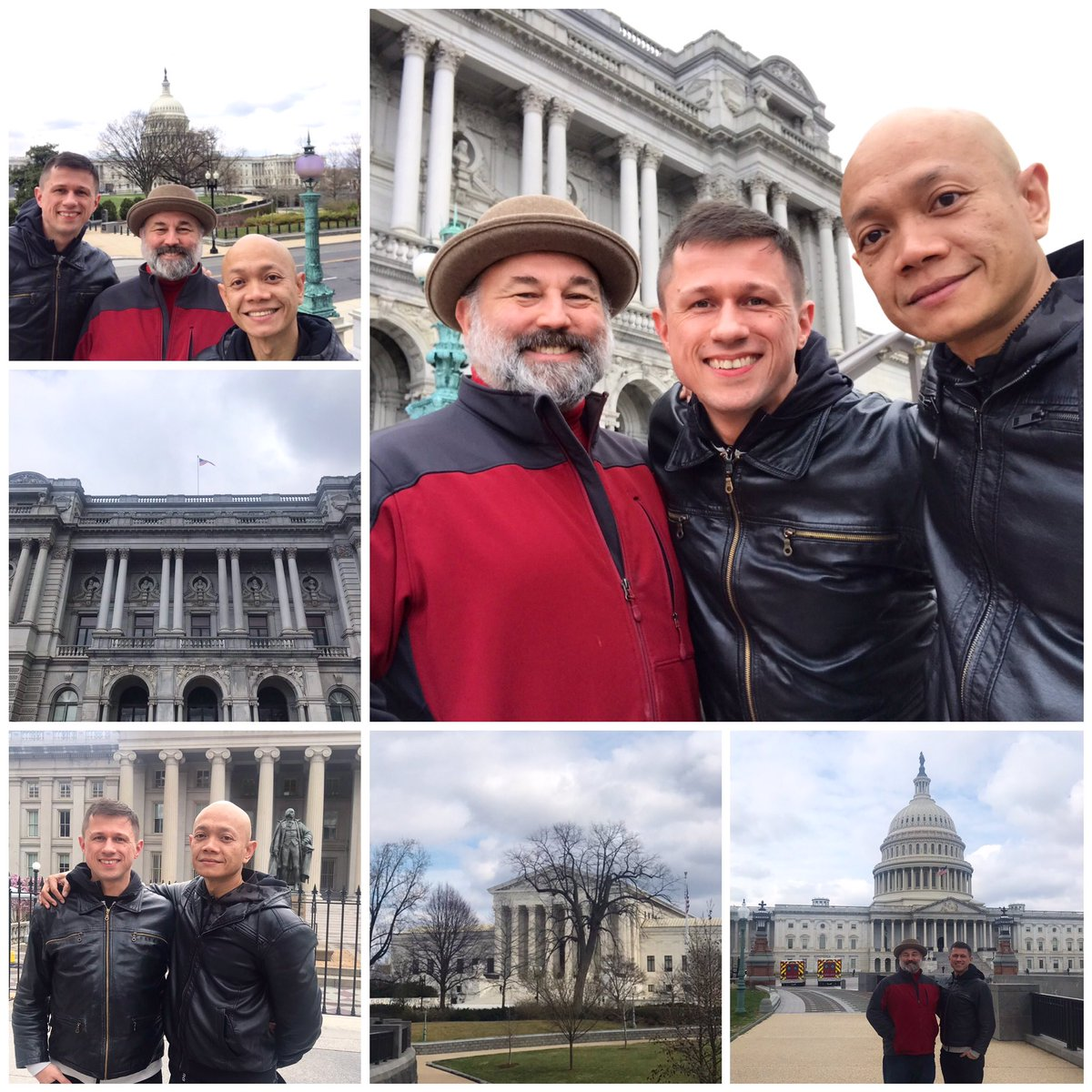 Remembering our last day in #WashingtonDC, taking into the iconic #CapitolBuilding, #LibraryOfCongress and #SupremeCourt, also the office of Ruth Bader Ginsburg. This was a special day. #awesome #sightseeing #travel #traveller #travelling #usa