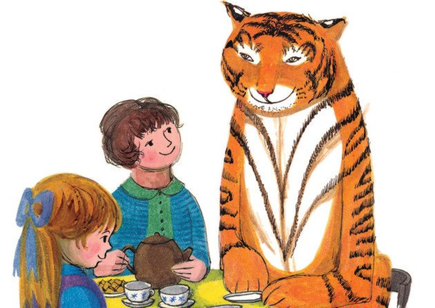 The Tiger Who Came To #Tea (1968), by Judith Kerr, author/illustrator of German-Jewish heritage whose family escaped the Nazis #womensart