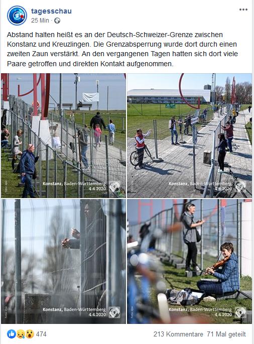 Was bedeutet #COVID19 für den kleinen Grenzverkehr, z. B. zwischen #Konstanz und #Kreuzlingen, wo enge persönliche Kontakte zwischen Deutschen und Schweizern existieren? Ist das sinnvoll? (via @tagesschau auf FB)pic.twitter.com/OCJ48iaDNs