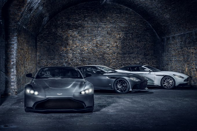 Add some Aston Martin to…