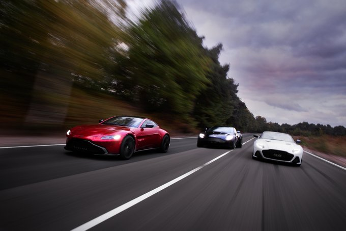 Add some Aston Martin to…