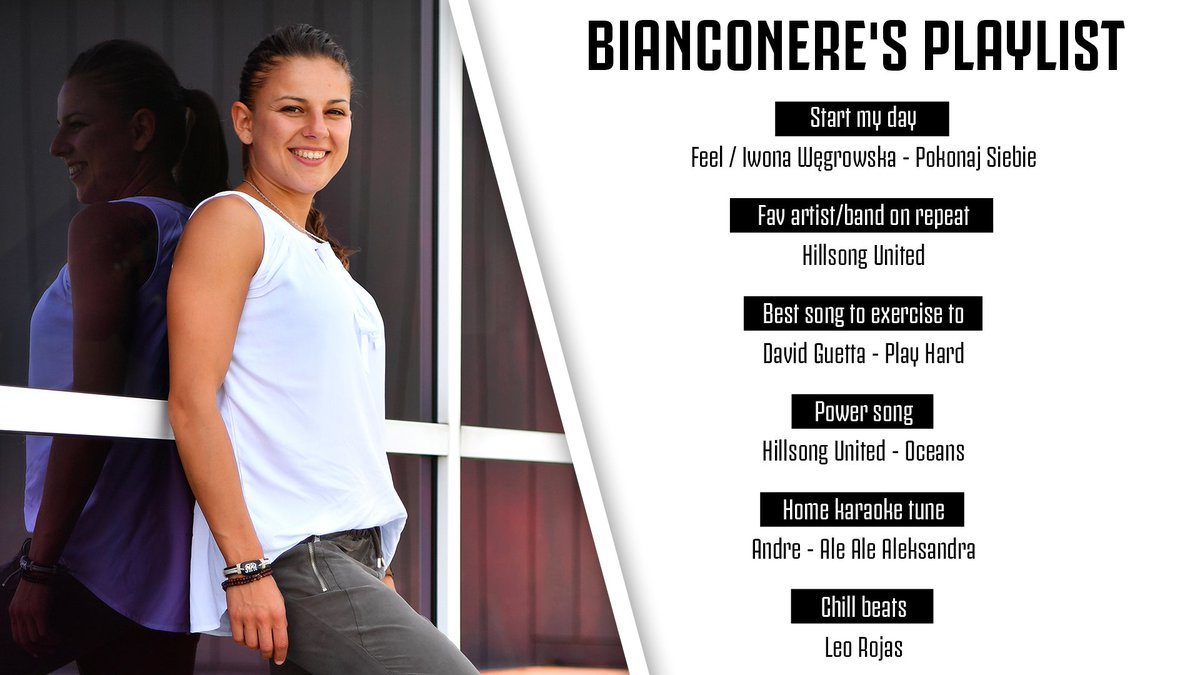 """🎶""""Work hard, play hard"""" 🎶  Sikora's #BianconerePlaylist is a mix of music you never thought you needed to hear."""