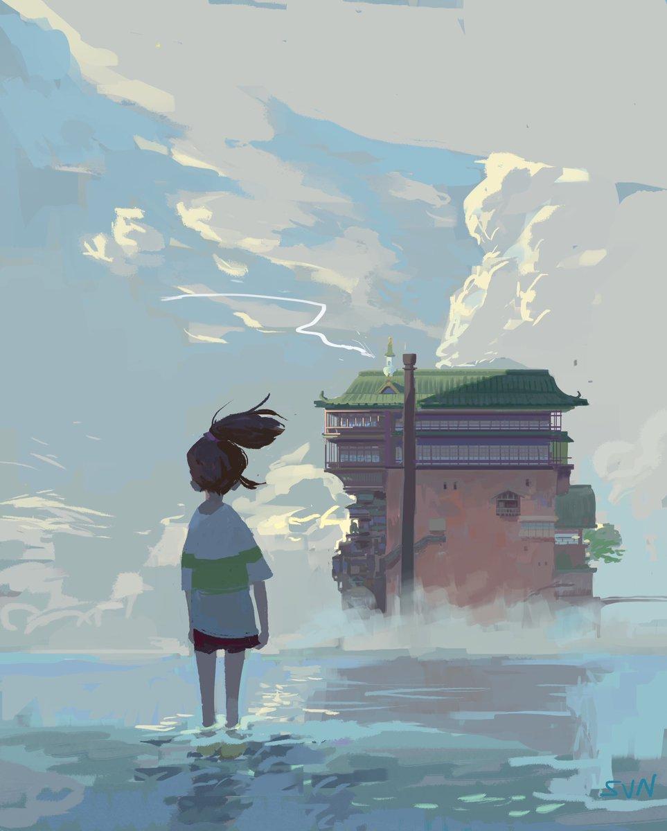 I forgot to post day 19 yesterday hahahaha sorry   #challenge #illustration #painting #Ghibli #chihiro #SpiritedAwaypic.twitter.com/nBPVNIYZJk