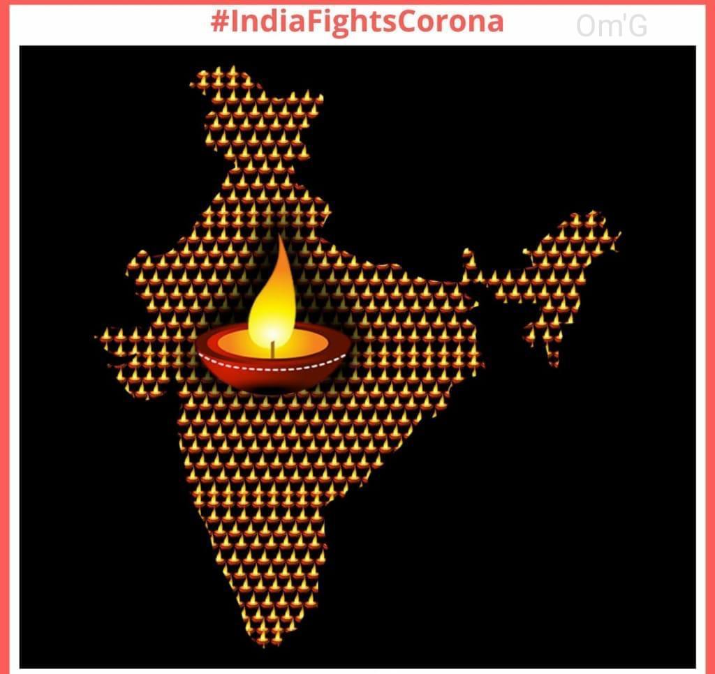 #IndiaFightsCoronavirus @narendramodi @PMOIndia Diya Jalao...