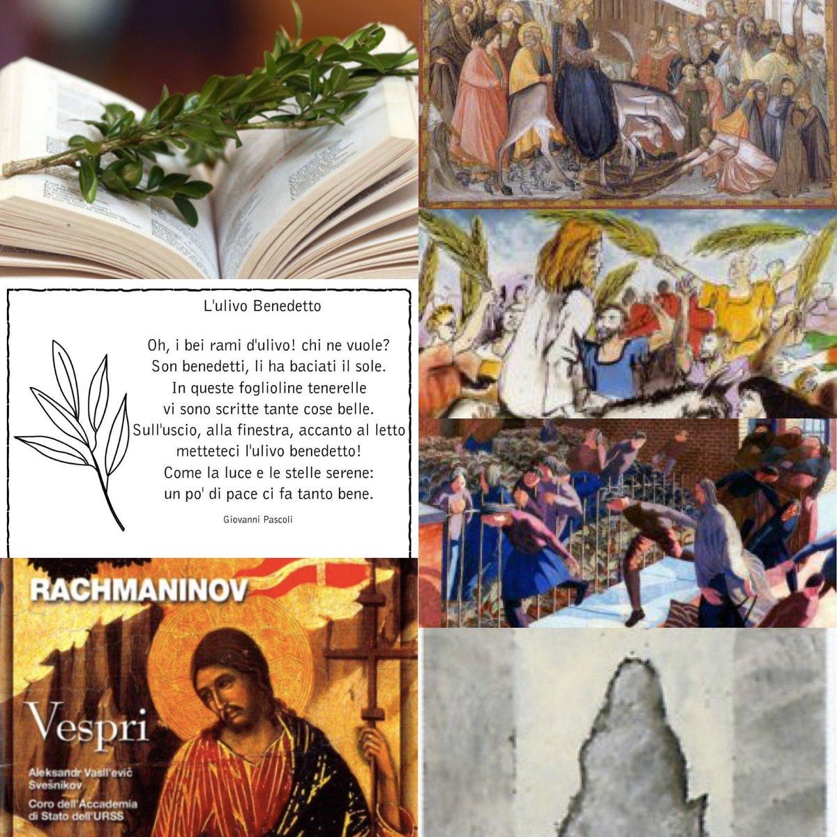 """#Oggi per il #Cristianesimo si celebra la #DomenicaDellePalme #significato e #arti? Tra #Bibbia e #Arte visiva https://bit.ly/2wdWufy #Poesia """"L'Ulivo Benedetto"""" #GiovanniPascoli #musica #Vespri #Rachmaninov  https://bit.ly/2RclJGt #COVID2019 #laculturanonsifermapic.twitter.com/YGhScPGtMD"""
