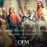 Image for the Tweet beginning: On Palm Sunday 800 years
