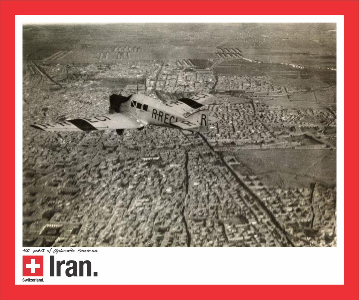 100 years of Swiss diplomatic presence in #Iran: When Swiss pilote/photographer Walter Mittelholzer flew a postal plane to Persia in 1924/25, he brought back a series of spectacular pictures that had a strong impact on the Swiss population , https://commons.wikimedia.org/wiki/Category:ETH-BIB_Mittelholzer-Persia_flight_1924-1925…pic.twitter.com/AuOimvAlmY