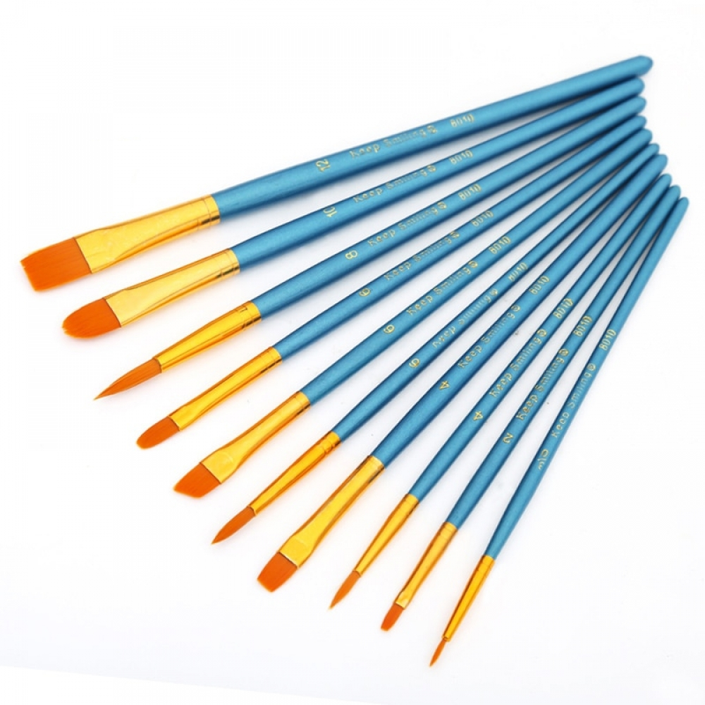 #gamerguy #tarot Watercolor Nylon Paint Brushes 10 pcs/Setpic.twitter.com/keqlUD4H5v