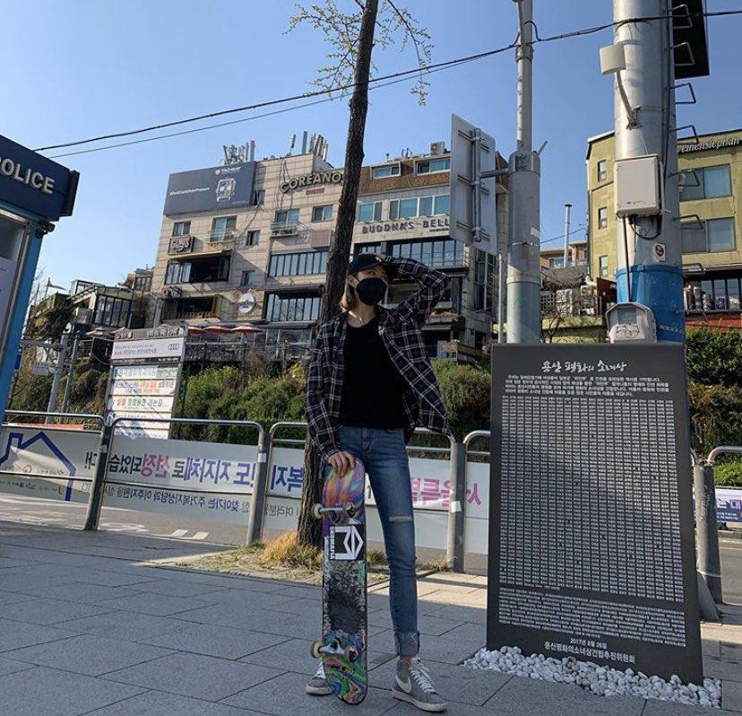 [200405] #KYUNGJOO's personal instagram update    My new hobby has been chosen #Skateboard #Fun pic.twitter.com/v1IsuyRQFE