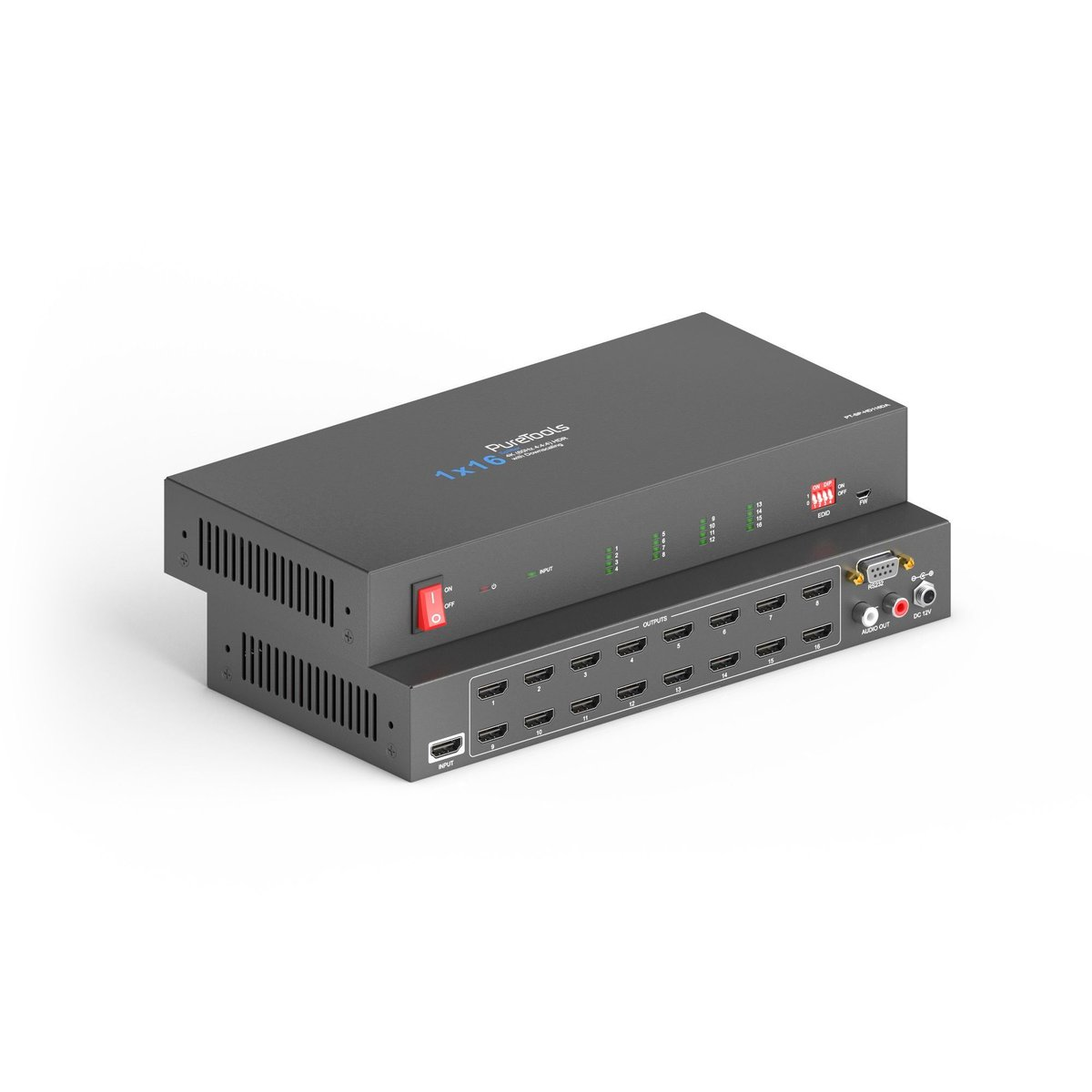 1x16 4K 18Gbps HDMI Splitter  available now features including distributing 1 HDMI signal to up to 16 HDMI outputs, also Supports 18Gbps for resolutions up to 4K UltraHD 60Hz see more features here https://buff.ly/2UGJatI  #AVtweeps #Purelink #HDMISplitterpic.twitter.com/4isZy9KgZI