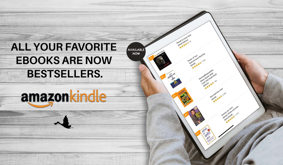 Four of our books are now among the top 5 Amazon Kindle's bestseller books. Get the ones you want to read now!  Buy these eBooks here: https://www.amazon.in/indian-language-ebooks/b/?ie=UTF8&node=10837926031&ref_=sv_kinc_7…  #amazonbestseller #readinthetimeofquarantine #quarantinereading #readmorebooks #kindlebooks #kindlereads #kindlepic.twitter.com/L02FxOvKmq