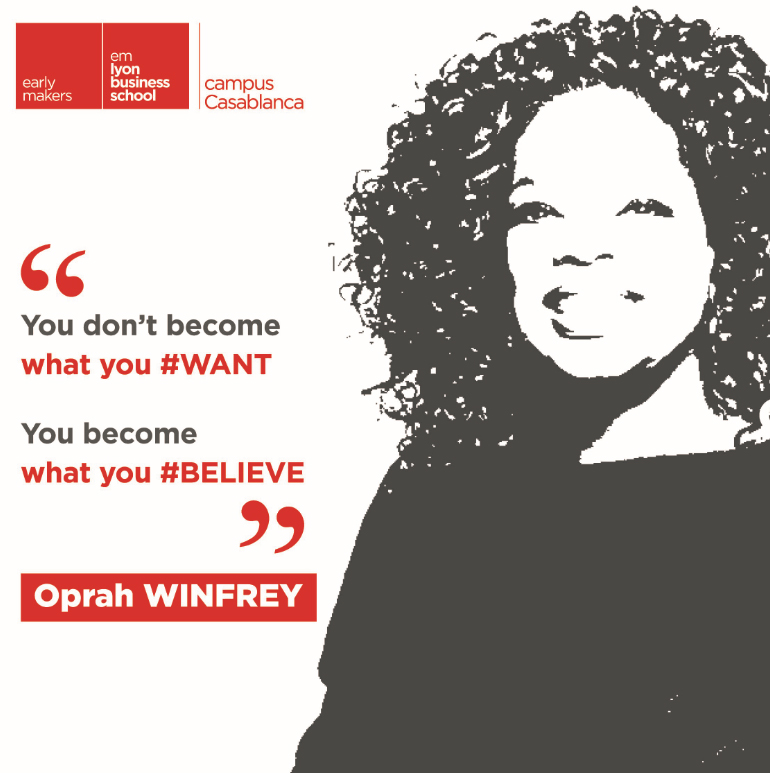 """<Sunday's Quote> """"You don't become what you want, you become what you believe.""""_ @Oprah  #believe #hope #mental #power #OprahWinfreypic.twitter.com/ZH14XKzf8C"""