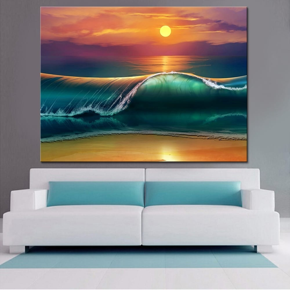 #islandLife #harborlife Sunset Ocean Canvas Print Tag a friend who would love this! FREE Shipping Worldwide Get it here --->  https:// cngi.in/2Qc4UsL     <br>http://pic.twitter.com/BAkCFQuwna