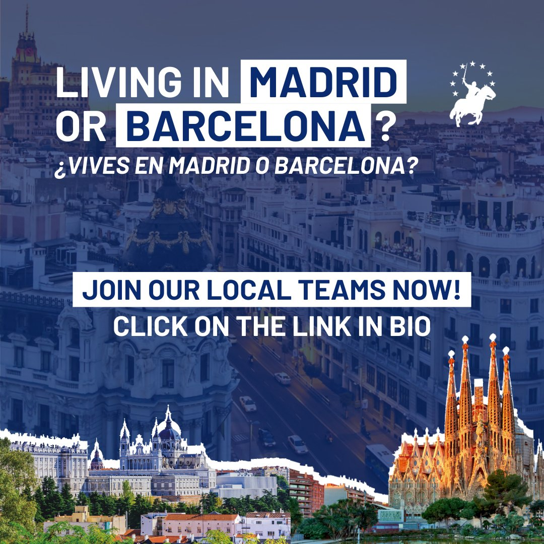 We are currently launching two city teams in #Spain: #Madrid and #Barcelona. If you want to join and help us, send us a DM!  pic.twitter.com/kee5Bx0Kvy