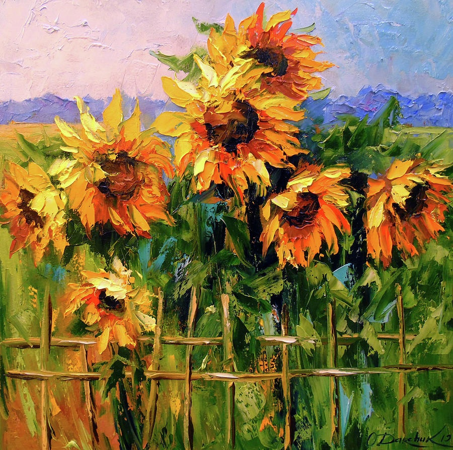 'Sunflowers' by Olha Darchuk #art pic.twitter.com/95ChjWLKSG