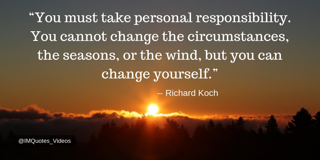 Take 100% responsibility for the direction of your life.  #Motivation pic.twitter.com/CLrc4JQQCh