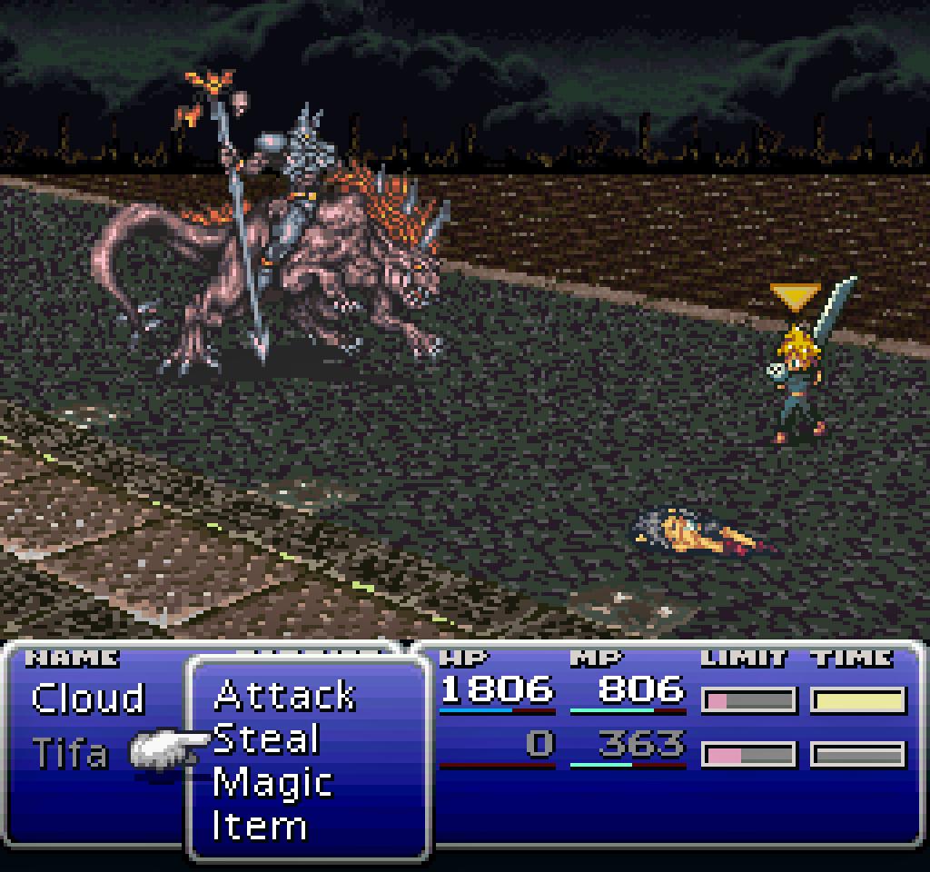 A fan demake of Final Fantasy VII on the SNES with mode 7 graphics    https://www. deviantart.com/tufsing/art/Fi nal-Fantasy-VII-SNES-3-0-179005792  … <br>http://pic.twitter.com/2PafpSplmC