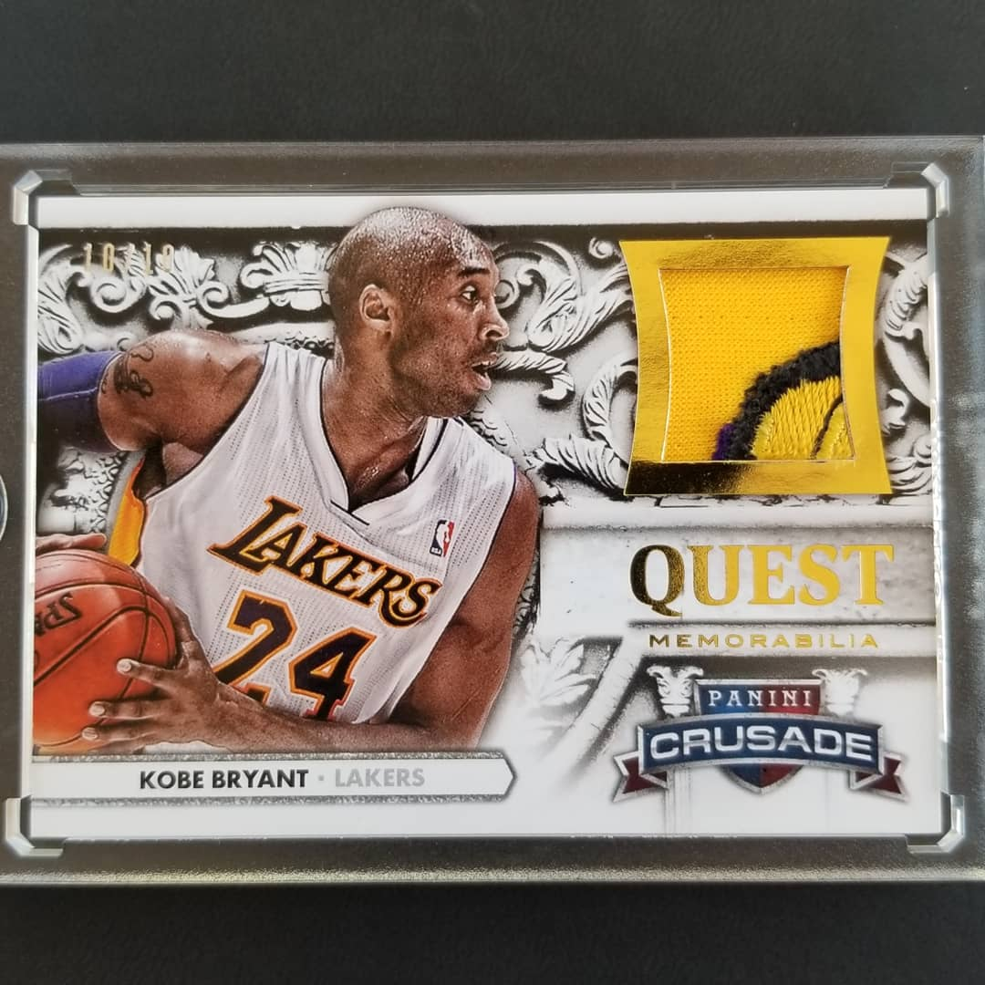 I added a piece to my NBA Finals collection this week. #kobe #kobebryantcards #HOF2020pic.twitter.com/tfh6rPMWrr