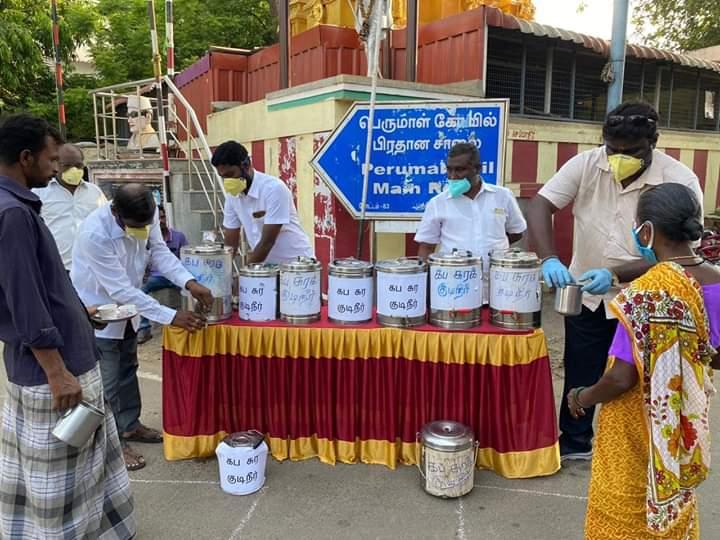 சென்னை கிழக்கு மாவட்டம் கழகத் தலைவர் @mkstalin  அவர்களின் ஆணைக்கிணங்க, மாவட்ட கழக செயலாளர் @PKSekarbabu MLA அவர்களின் ஆலோசனைப்படி, கொரட்டூர் அக்ரஹாரம் 83வது வட்டத்தில் ஐந்தாம் நாள் நிகழ்வாக பொதுமக்களுக்கு கபசுர குடிநீர்   #DMKagainstCorona #DMKChennai 1/1pic.twitter.com/GyXKCRpoEn