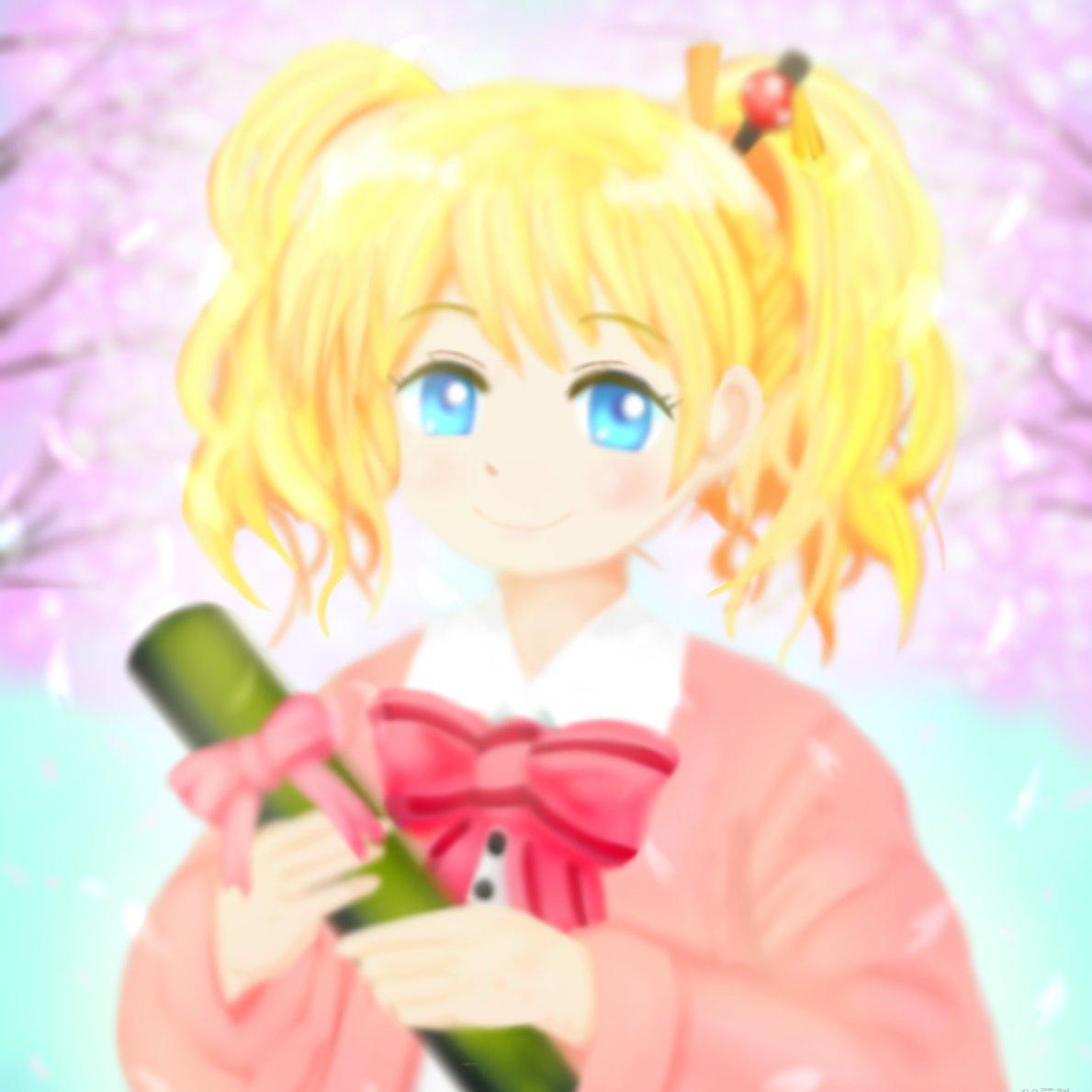 【アリス生誕祭2020】卒業&誕生日おめでとう!   nanonano38 #pixiv 早速pixivにアップ!(`・ω・´)