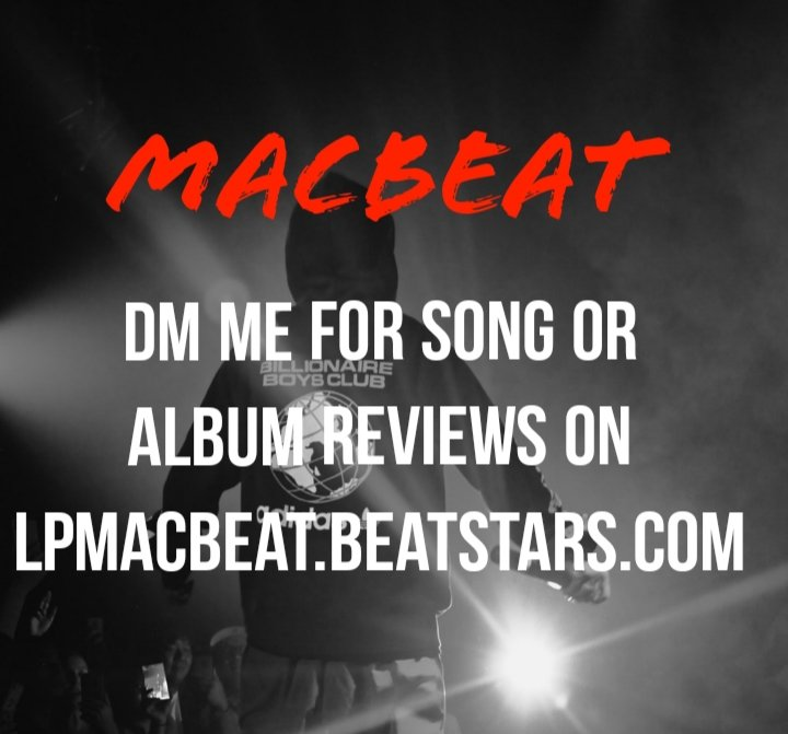 #soundcloudartist #soundcloudrapper #upcomingartist if you are looking for a music producer/promoter who will listen to your music, write a review and link your music for FREE!  Retweet this and DM me  Reviews at http://lpmacbeat.beatstars.com   #beatsforsale #beatstars #audiomackpic.twitter.com/cpEmUW2IPJ