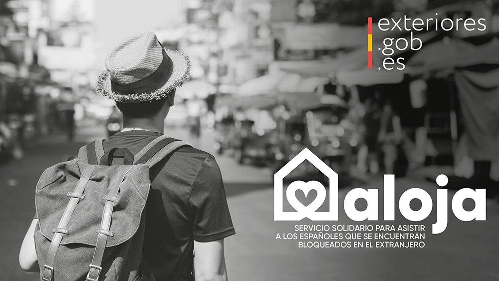 La Moncloa. ¿Conoces el programa #Aloja? ▶  Facilit...: abre ventana nueva