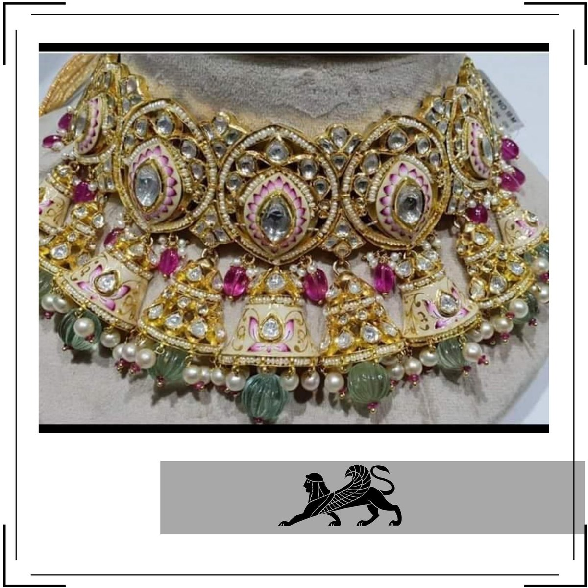 Incredible necklace ! #classy #golddetails Kadel Jewellers #heritagepic.twitter.com/aMU1LnfoYy
