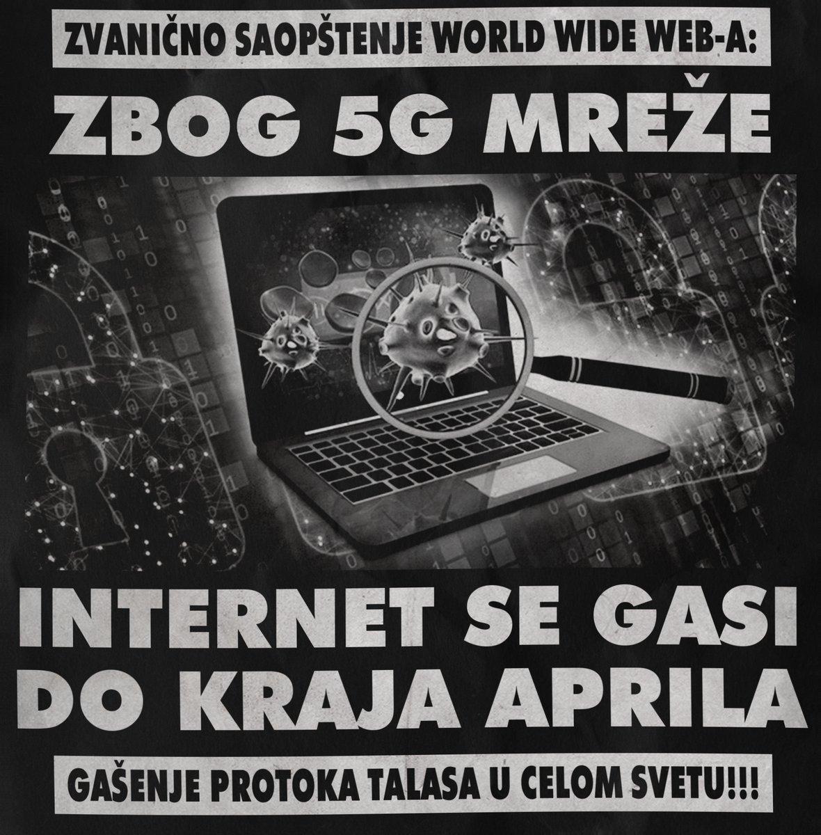 Zbog 5G mreže – internet će se potpuno ugasiti