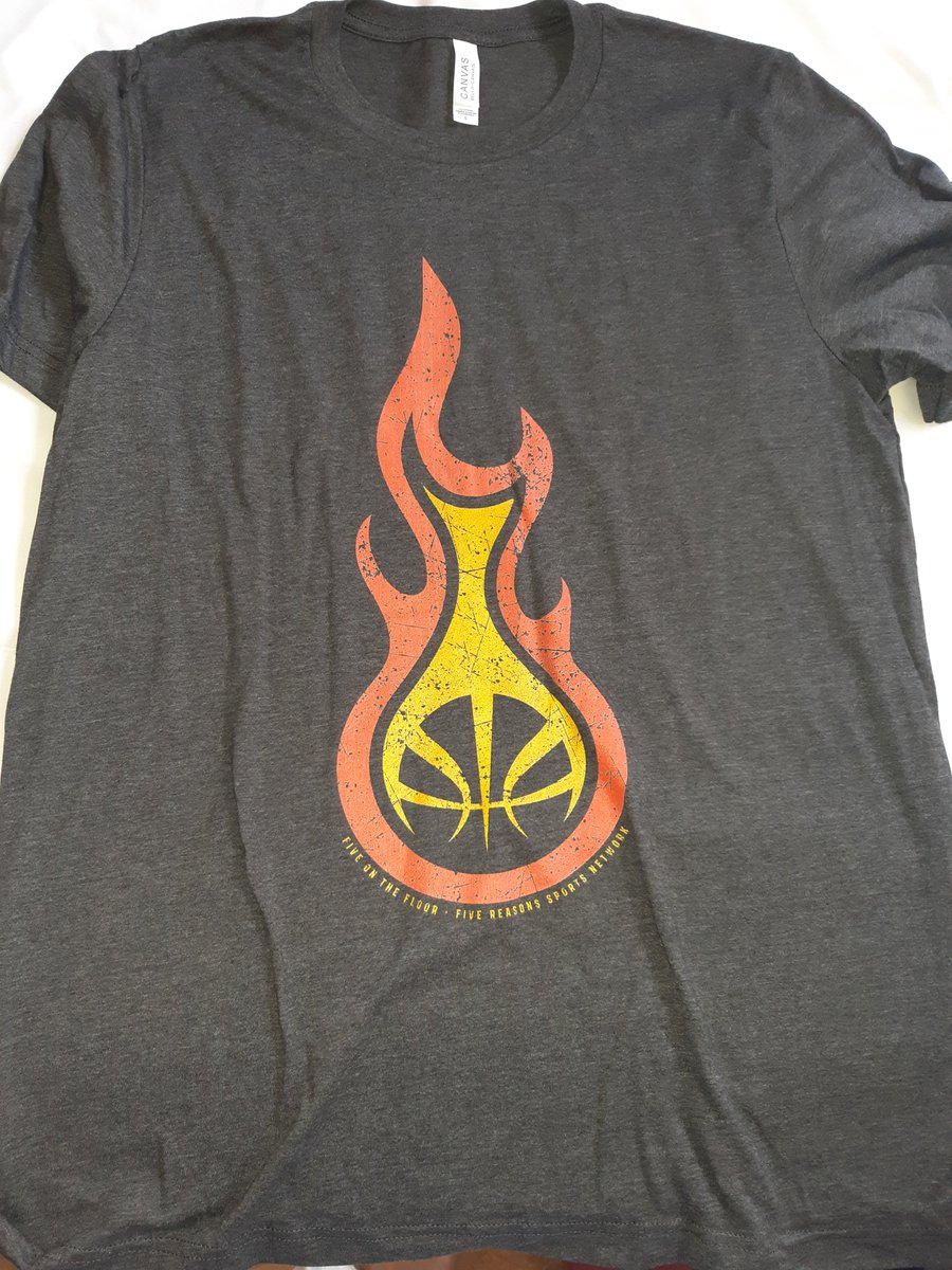 About to put on my new fire tshirt for a busy day of doing nothing! @5ReasonsSports