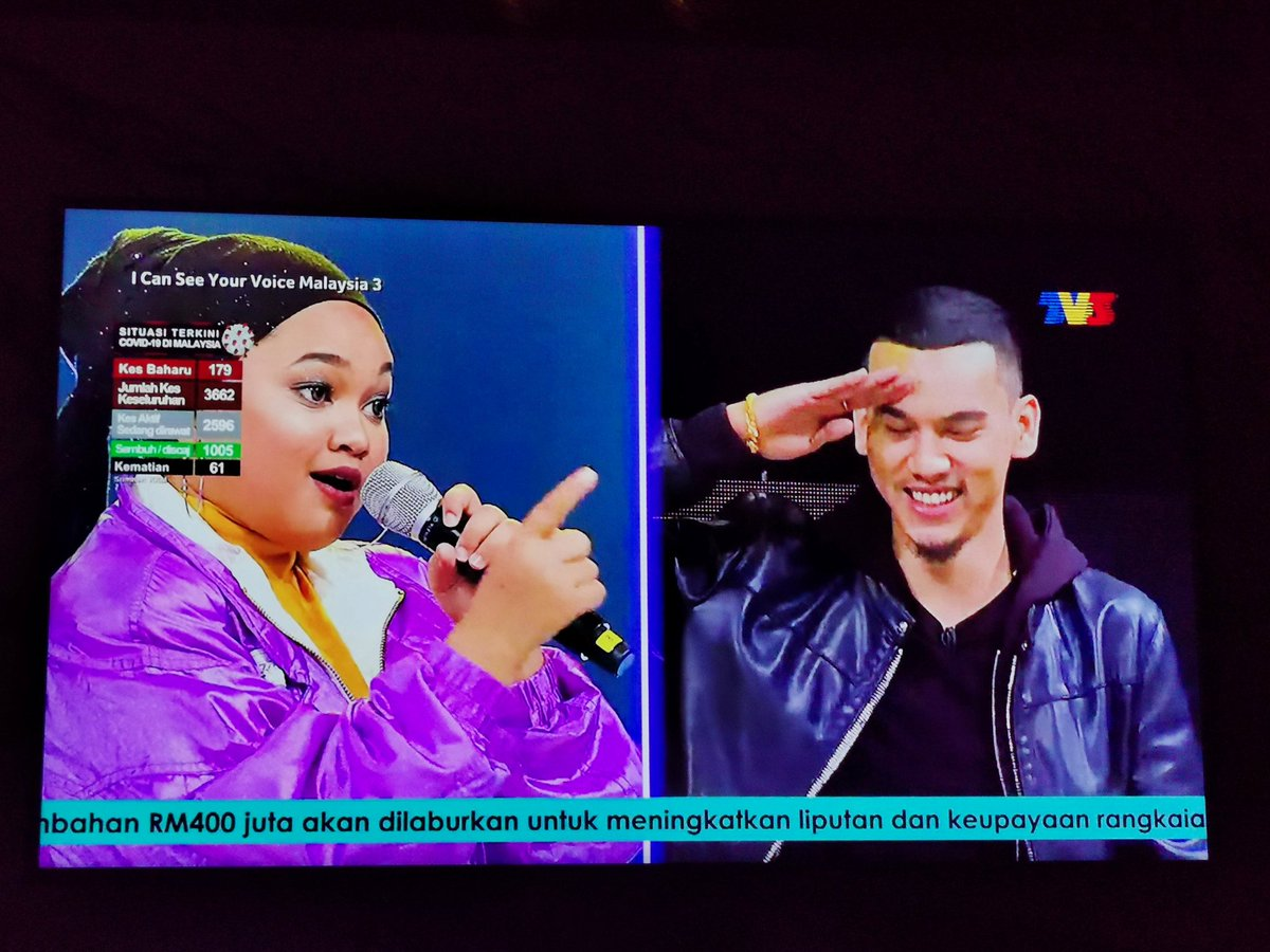 She has an amazing voice and skills.. Salute..  Love the show tonight!  #ICSYVMY #MKKclique #KClique #JanganSalahSangka #ICSYVMY3 #Rapper  Rap Itu Menyatukan. pic.twitter.com/3rJXCVArsH