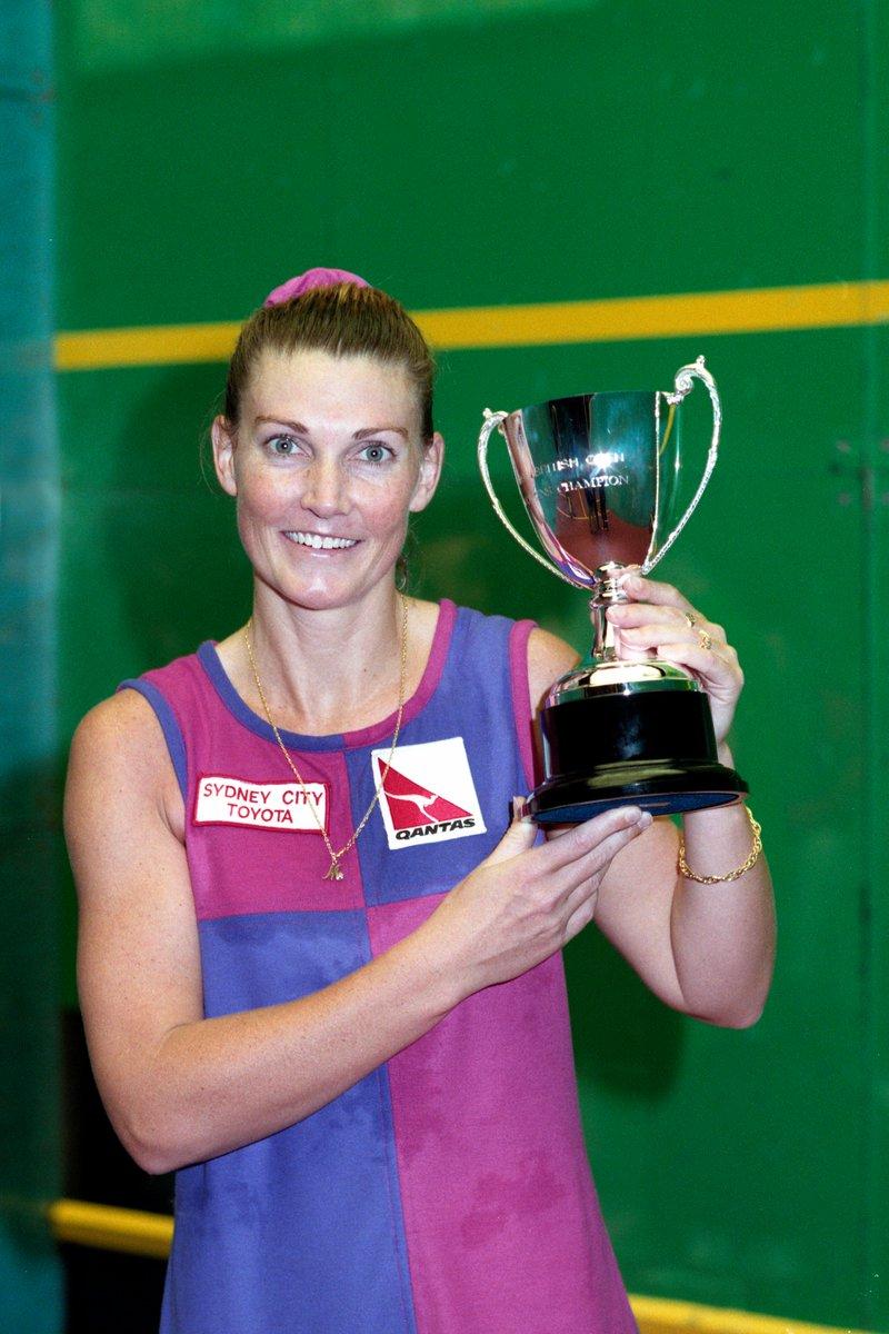 test Twitter Media - #OnThisDay in 1️⃣9️⃣9️⃣8️⃣  Michelle Martin won her sixth and final @BritOpenSquash title, beating Sarah Fitz-Gerald in Birmingham!  #squash #britishopen https://t.co/cTA28t10Y8