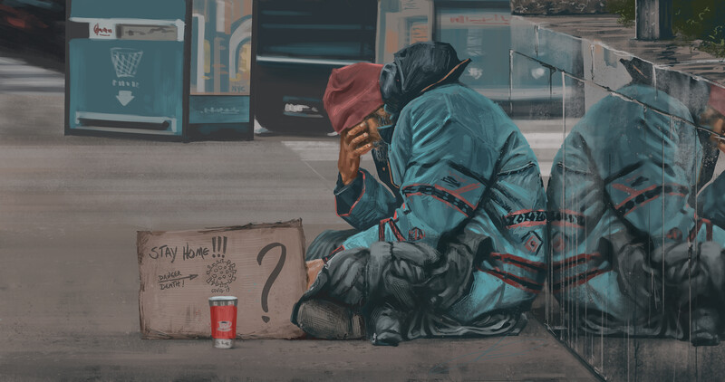 #StayHome?  #Art by Luciano Neves pic.twitter.com/jQb0tZaT4l