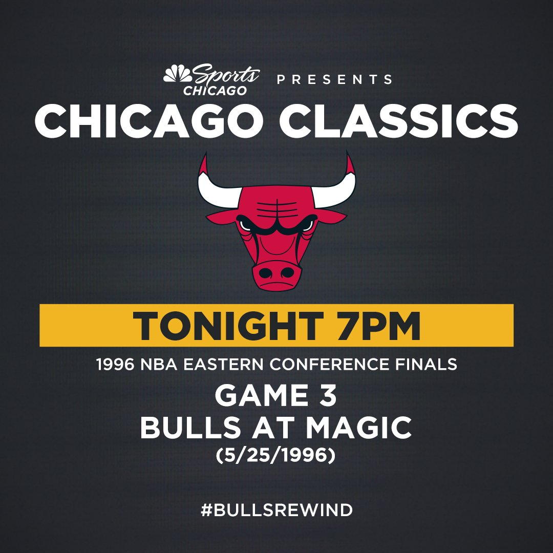 The Bulls are about to officially break the Magic's offense. #BullsRewind. Now. @NBCSChicago.