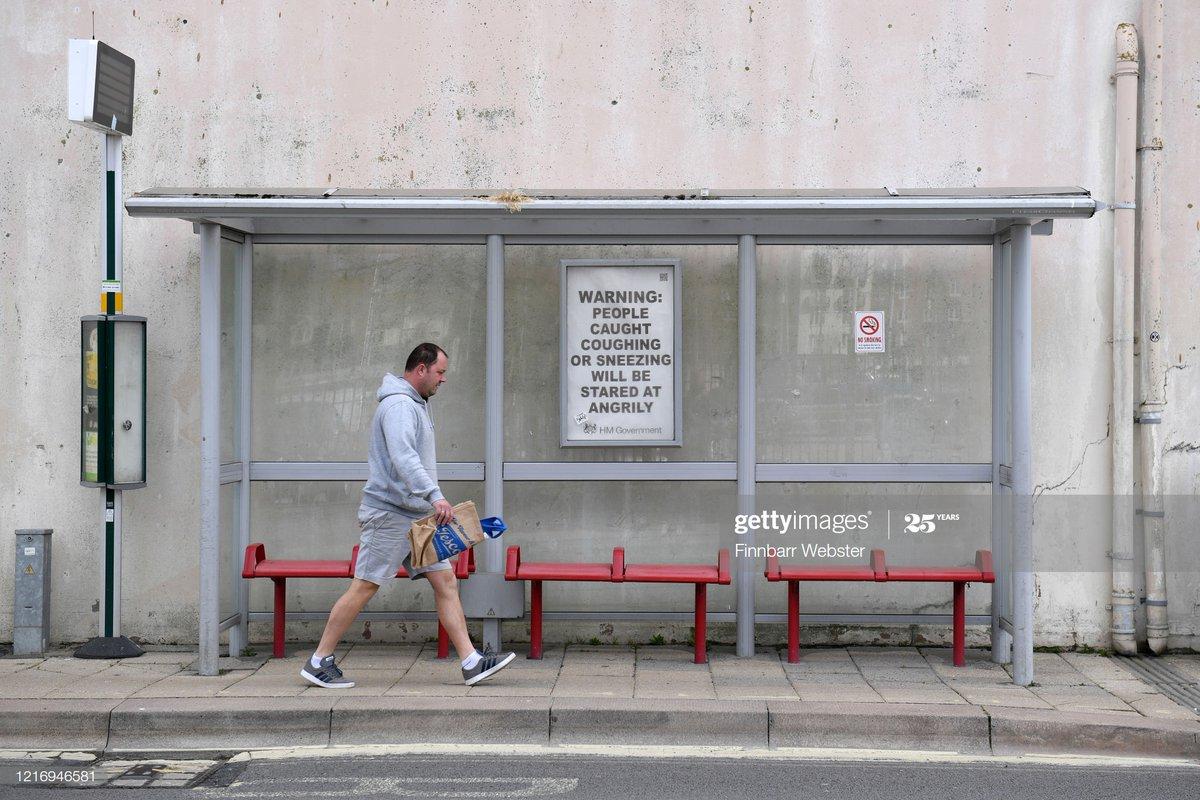Weymouth - UK On Lockdown Due To Coronavirus Pandemic pic.twitter.com/mA72ViSF7p
