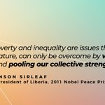Image for the Tweet beginning: Elder @MaEllenSirleaf teaches us that
