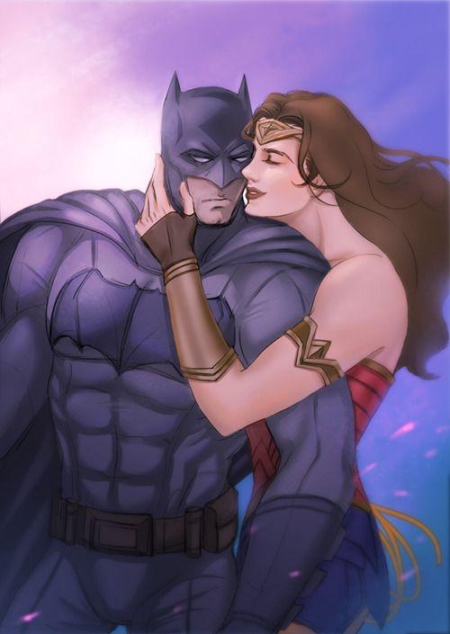 A cute wonder woman and batman art #wonderwoman #batman #wonderbatpic.twitter.com/L9LXUU86XT