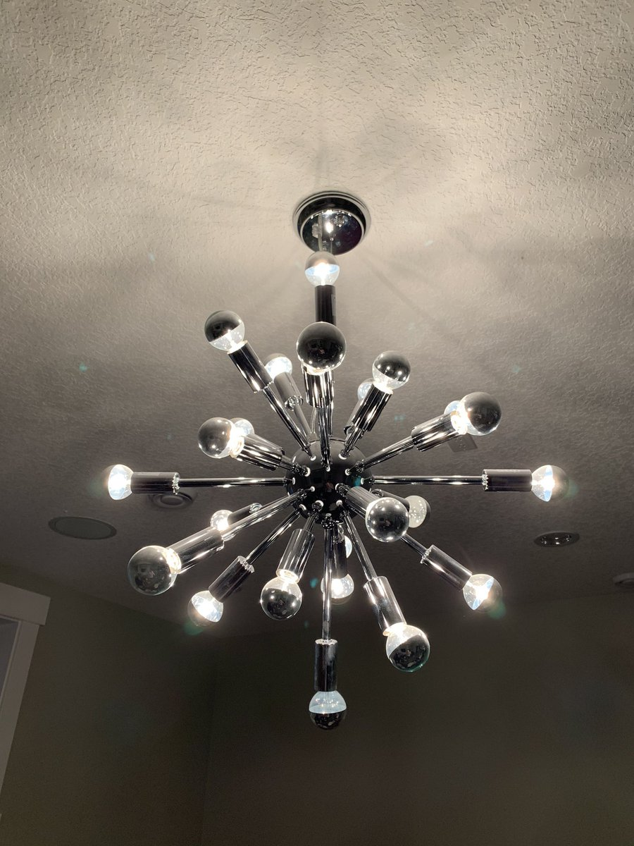 The Nerd Room Podcast On Twitter We Moved Into Our Current House About 3 Years Ago And Slowly Changed All The Ceiling Lights This One In Our Basement I Refuse Get Rid