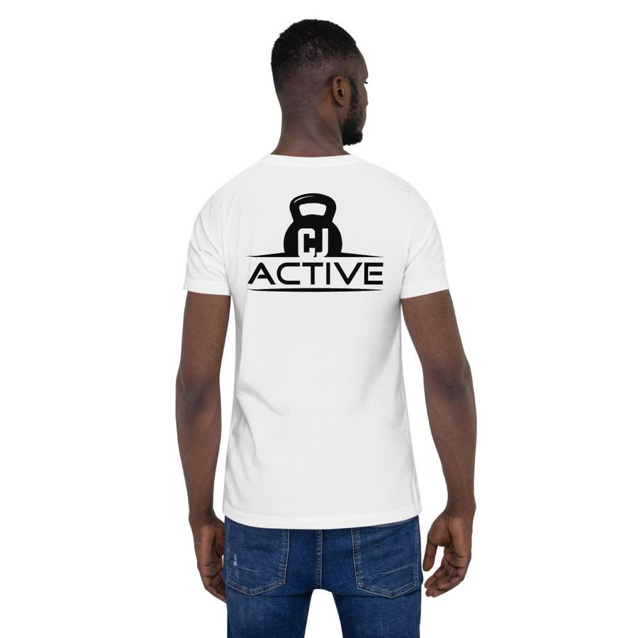 CJ active logo t shirts available on our website now! Perfect for the gym, get YOURS now before they are gone! https://cjactive.com/collections/activewear/products/unisex-premium-t-shirt-bella-canvas-3001… #CJactivepic.twitter.com/UccHVah6hx