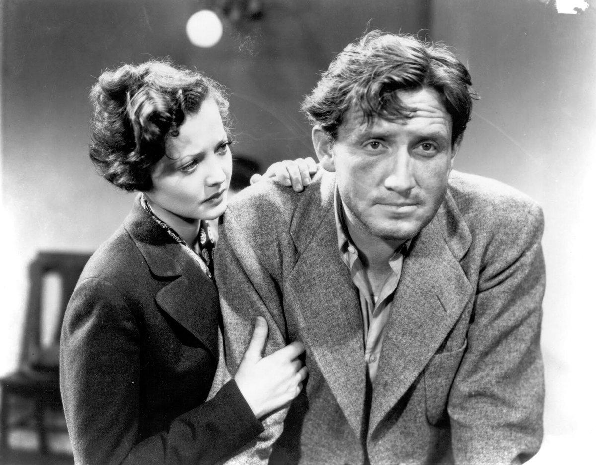 El gran #SpencerTracy (900-1967) en un puñado de películas imprescindibles  (Mis favoritas*)   Furia (#FritzLang, 1936) San Francisco (W.S. Van Dyke, 1936), nominado al #Oscar Capitanes intrépidos (#VictorFleming, 1937), Oscar  Forja de hombres (#NormanTaurog, 1938), Oscar pic.twitter.com/74NBRTu7ca